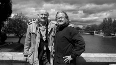 Photo of Воја Митровић у промо филму: Peter Turnley: French Kiss – A Love Letter to Paris