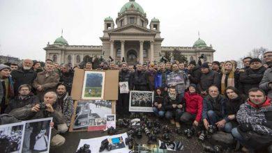 Photo of Foto-reporteri ispred Skupštine