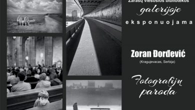 Photo of Zoran Dordevic: Fotografijų paroda