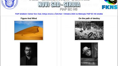 Photo of Saeed Arabzadeh i Jan Valo u FIAP galeriji u Novom Sadu